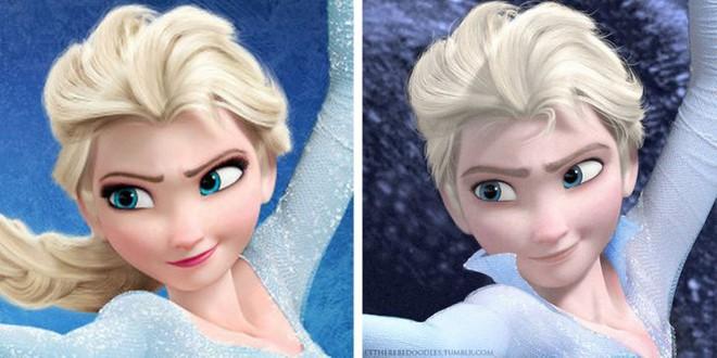 Cười xỉu khi các nhân vật Disney huyền thoại bị hoán đổi giới tính: Elsa đẹp trai hết hồn nhưng nhan sắc trùm cuối mới gây hoang mang! - ảnh 2