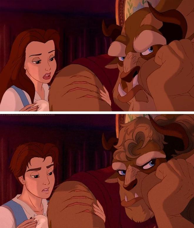 Cười xỉu khi các nhân vật Disney huyền thoại bị hoán đổi giới tính: Elsa đẹp trai hết hồn nhưng nhan sắc trùm cuối mới gây hoang mang! - ảnh 13