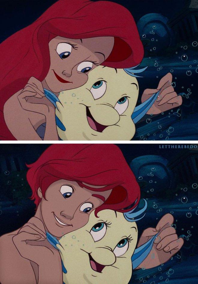 Cười xỉu khi các nhân vật Disney huyền thoại bị hoán đổi giới tính: Elsa đẹp trai hết hồn nhưng nhan sắc trùm cuối mới gây hoang mang! - ảnh 11