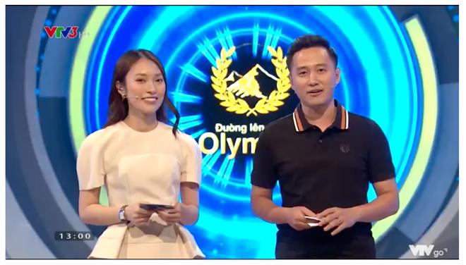 Hình ảnh đầu tiên của Khánh Vy trên sóng Olympia: Chuyên nghiệp và rạng rỡ với nụ cười thương hiệu - Ảnh 2.
