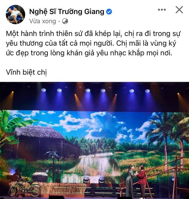 Cả showbiz Việt xót thương khi hay tin ca sĩ Phi Nhung qua đời: Lan Ngọc buồn bã, Đan Trường xúc động nói lời tiễn biệt - Ảnh 12.
