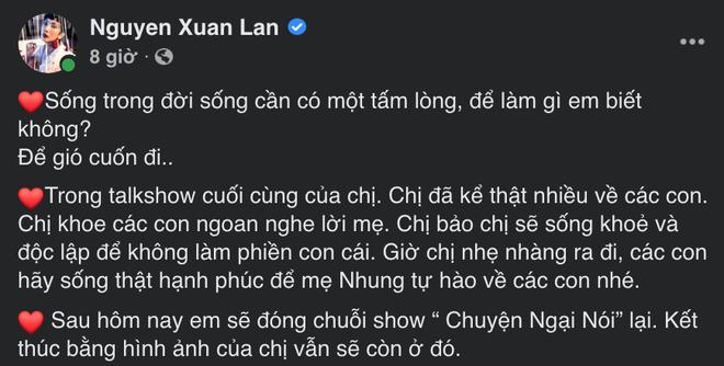 Phi Nhung rạng ngời trên chương trình cuối cùng trước khi qua đời, NSX quyết định ngừng hẳn show - ảnh 3