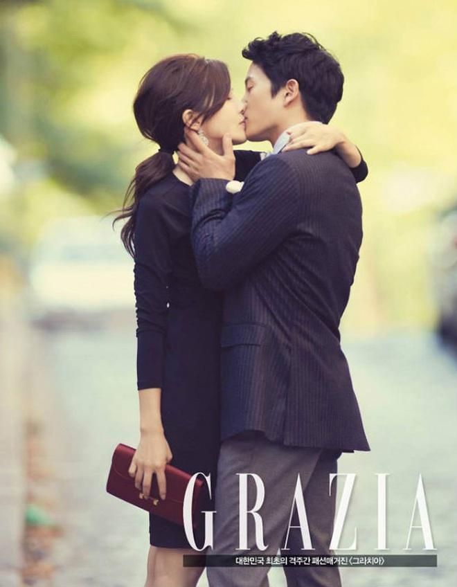 Mợ út tài phiệt Lee Bo Young và tài tử Ji Sung kỷ niệm 8 năm kết hôn, bộ ảnh cưới thế kỷ và tin đồn tiểu tam bỗng hot trở lại - ảnh 7