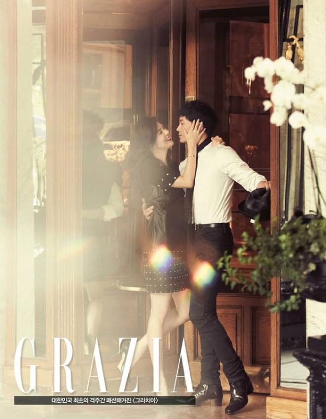 Mợ út tài phiệt Lee Bo Young và tài tử Ji Sung kỷ niệm 8 năm kết hôn, bộ ảnh cưới thế kỷ và tin đồn tiểu tam bỗng hot trở lại - ảnh 5