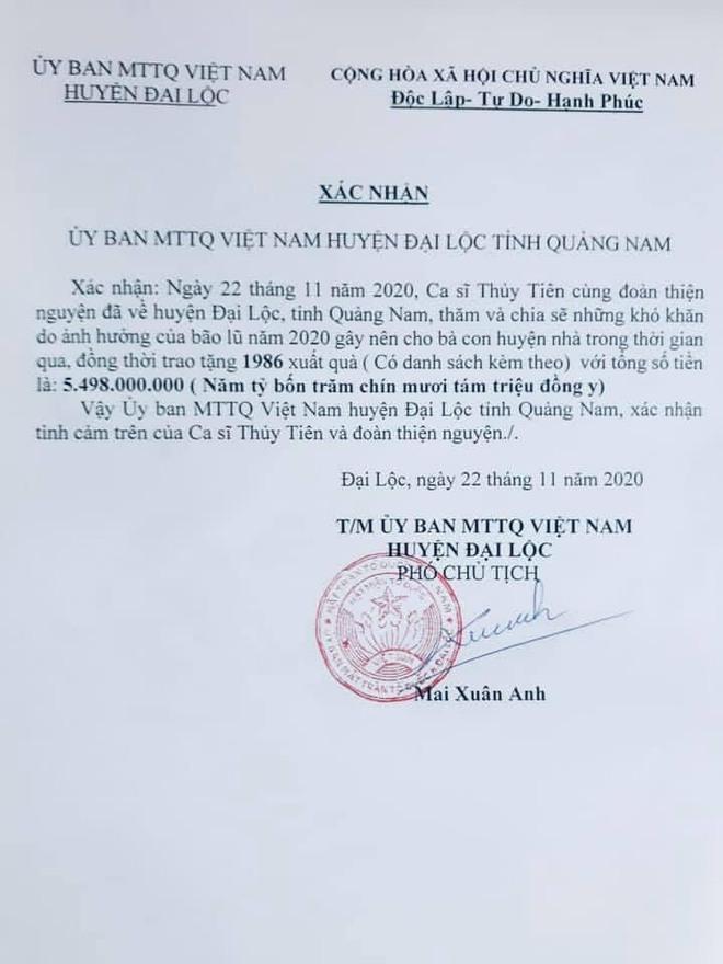 Phía Thuỷ Tiên lên tiếng làm rõ về số tiền từ thiện, hẹn livestream sao kê tại ngân hàng giữa loạt ồn ào - Ảnh 7.