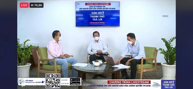 Buổi livestream đặc biệt có sự tham gia của chủ tịch Phan Văn Mãi đạt kỷ lục về số người xem và chia sẻ - Ảnh 1.