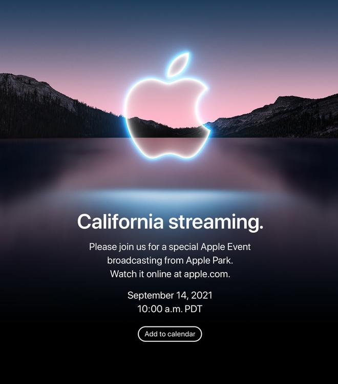 Nóng: Apple chính thức công bố ngày ra mắt iPhone 13 - Ảnh 1.
