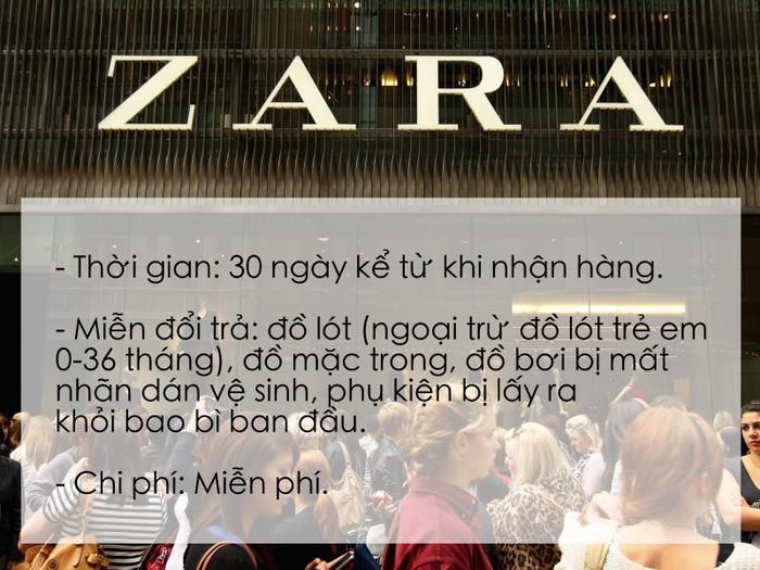 Để tránh ồn ào như vị khách mua quần legging tại Zara Hà Nội, học ngay chính sách đổi trả hàng của các thương hiệu đình đám sau - Ảnh 3.