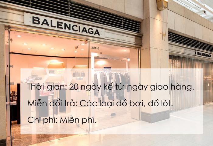 Để tránh ồn ào như vị khách mua quần legging tại Zara Hà Nội, học ngay chính sách đổi trả hàng của các thương hiệu đình đám sau - Ảnh 13.