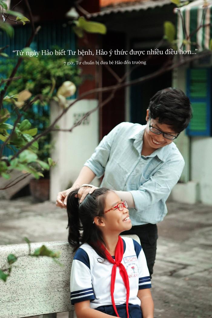 24 giờ của Tư: Bộ ảnh xúc động về người mẹ đơn thân chiến đấu với căn bệnh ung thư cùng cô con gái 12 tuổi - Ảnh 3.