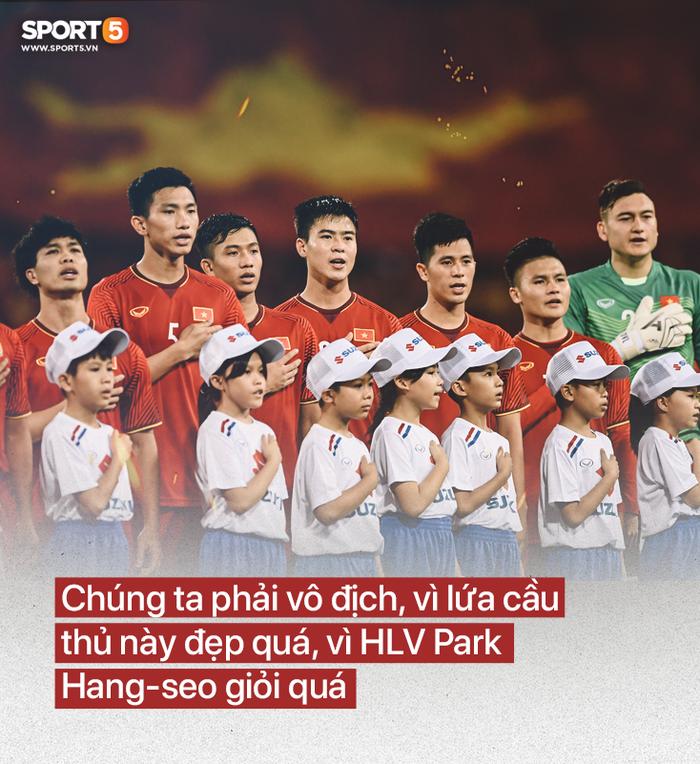 Đội tuyển Việt Nam: Vô địch, cần phải vô địch - Ảnh 2.