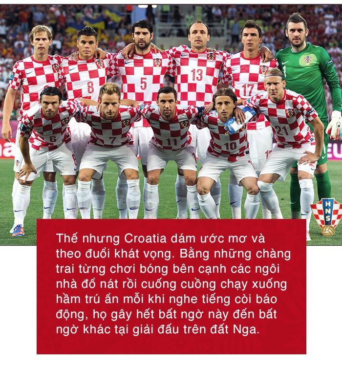 Không có câu chuyện cổ tích, nhưng huyền thoại về Croatia sẽ được lưu truyền mãi - Ảnh 7.