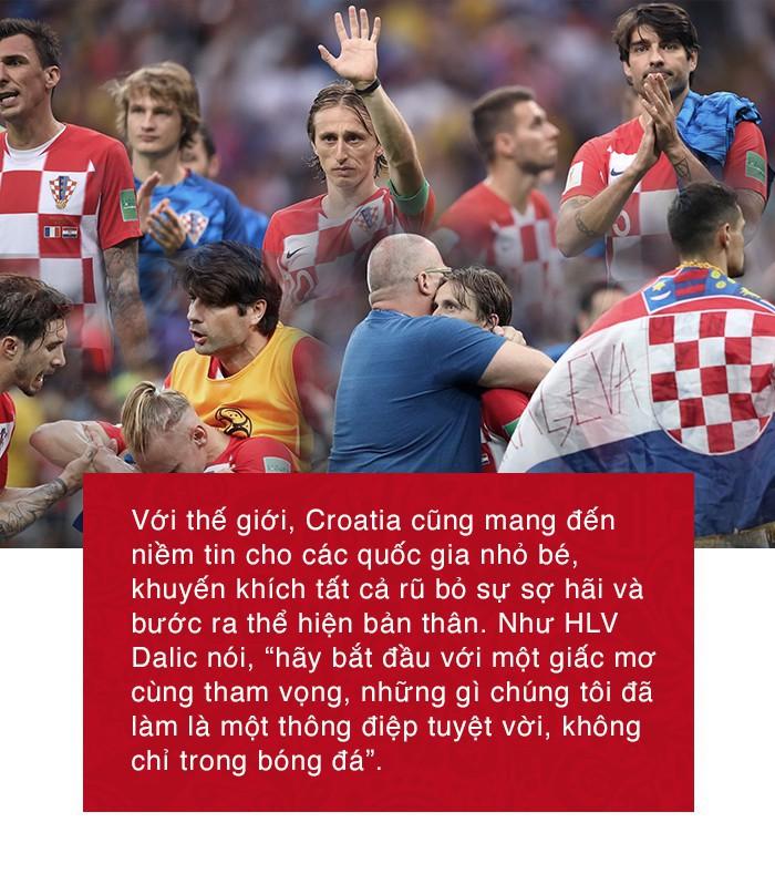 Không có câu chuyện cổ tích, nhưng huyền thoại về Croatia sẽ được lưu truyền mãi - Ảnh 11.