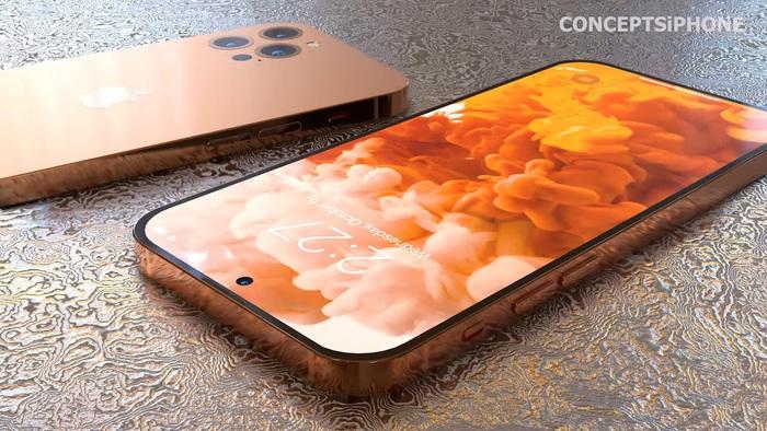 Hé lộ concept iPhone 14 với màu sắc mới, thiết kế mới! - Ảnh 11.