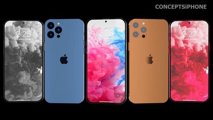 Hé lộ concept iPhone 14 với màu sắc mới, thiết kế mới! - Ảnh 13.