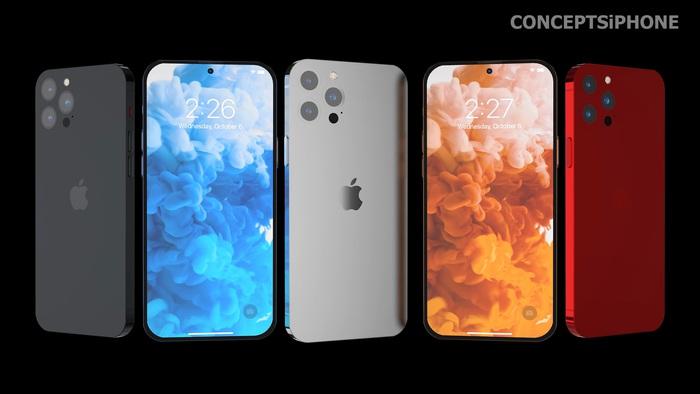 Hé lộ concept iPhone 14 với màu sắc mới, thiết kế mới! - Ảnh 14.
