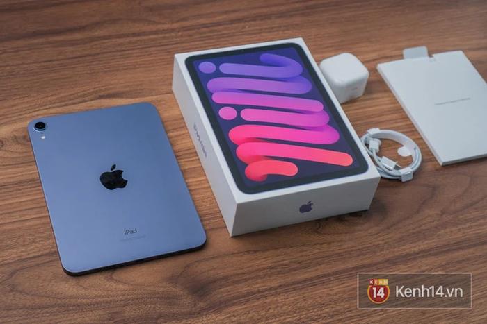 """Trên tay iPad mini 6 đầu tiên về Việt Nam: Thiết kế siêu """"mlem"""", đẹp đúng chuẩn Apple! - Ảnh 2."""