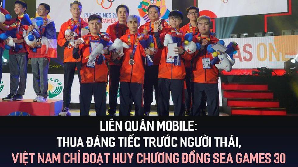 Liên Quân Mobile: Thua đáng tiếc trước người Thái, Việt Nam chỉ đoạt Huy chương đồng tại SEA Games 30