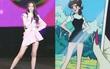 Idol đẹp chuẩn thủy thủ Mặt Trăng hóa ra không phải Lisa mà là center 15 tuổi 1m7 dáng nuột mặc gì cũng đỉnh