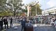 Ibrahimovic được dựng tượng khổng lồ tại quê nhà Thụy Điển