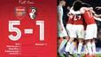 Highlights Arsenal 5-1 Bournemouth | Bữa tiệc bàn thắng trên sân Emirates