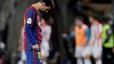 Cực sốc: Messi ăn thẻ đỏ đầu tiên ở Barca vì đánh vào đầu đối thủ