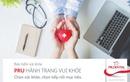 """""""PRU - Hành trang vui khỏe"""" – Bước tiến mới của Prudential trong mảng bảo hiểm chăm sóc sức khỏe"""