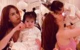 Hết chị ruột giờ đến cháu gái chiếm spotlight của Ngọc Trinh: Quá đáng yêu, đúng là di truyền nhan sắc từ gia đình cực phẩm!