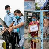 Chuyện cư dân chung cư ở Sài Gòn nấu hàng trăm suất ăn mỗi ngày tiếp sức các Bệnh viện dã chiến: Những người tham gia phải có xét nghiệm âm tính - ảnh 26