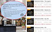 8⁄18 cửa hàng Starbucks ở Hà Nội đóng cửa vì ô nhiễm nguồn nước