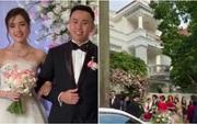 Mẹ Mie đăng clip rước dâu nhưng dân tình lại chú ý đến căn biệt thự hoành tráng nhà chú rể