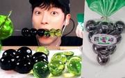 Ăn thử thạch nho Kyoho được các Youtuber rủ nhau làm mukbang: 7 điểm ngon, 10 điểm vui khi được chọc thủng viên thạch