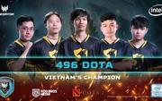 """496 đang là thế lực """"vô đối"""" của Dota2 Việt Nam khi vô địch Predator League 2020 với thành tích bất bại"""