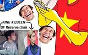 """CĐV Thái Lan chế ảnh mỉa mai Văn Hậu ngồi dự bị, châm biếm bóng đá Việt Nam là """"King of marketing"""""""