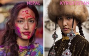 Nhiếp ảnh gia ngao du thế giới ghi lại những hình ảnh đẹp đến nức lòng của phụ nữ khắp năm châu bốn bể
