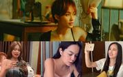 """Phạm Quỳnh Anh, Mai Phương Thuý """"há hốc mồm"""" khi xem cảnh nóng của Khả Ngân, Diệu Nhi sao nỡ bảo môi cô em trông như """"2 miếng thịt bò""""?"""