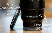 """Sống ảo thử với filter chụp macro chỉ vài trăm nghìn đồng: Sẽ ra sao nếu so với ống kính macro """"xịn sò"""" giá 20 triệu?"""