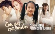 """2 cô con gái nhà """"tiểu tam Penthouse"""" Eugene: Hết thiên tài IQ 127 học trường quốc tế đắt đỏ đến fangirl nhí đặc biệt của BTS"""
