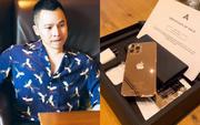 Vũ Khắc Tiệp là một trong 500 người trên thế giới sở hữu iPhone 12 Pro Max mạ vàng 18K, khoe giá thực tế mà choáng!