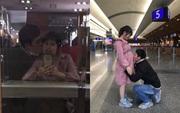 Vợ mang thai một mình về nước trên chuyến bay nhân đạo, chồng quỳ gối ôm hôn bụng bầu nói lời tạm biệt khiến ai cũng xúc động