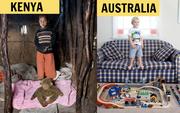 Nhiếp ảnh gia chu du khắp thế giới, chụp trẻ em đứng cùng món đồ chơi quý giá nhất chúng có, tạo bộ ảnh cực thú vị và đáng suy ngẫm