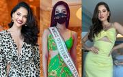 """Khánh Vân liên tục ghi điểm với outfit màu nổi, khoe vòng 1 căng đầy cùng thần thái """"đỉnh chóp"""" trong ngày 2 nhập cuộc Miss Universe"""