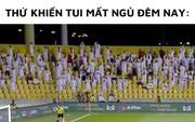 Sau trận đấu UAE - Việt Nam, cộng đồng mạng lại đua nhau chế meme cực hài hước, nhưng sao tâm điểm lại là âm nhạc?