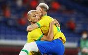Sao Ngoại hạng Anh tỏa sáng rực rỡ, Brazil hạ gục Đức trong cơn mưa bàn thắng ở trận ra quân Olympic 2020