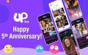 Uplive kỷ niệm 5 năm thành lập với những thử thách thú vị kèm giải thưởng khủng cho người dùng