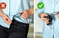 Những người đang khổ sở vì đeo kính đừng phớt lờ 11 mẹo vặt này bởi chúng thực sự có ích