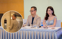 Muốn giải đáp thắc mắc dư luận nhưng trưởng BTC HH Đại Dương - Võ Việt Chung lại bỏ về, không cho phóng viên chụp ảnh tác nghiệp