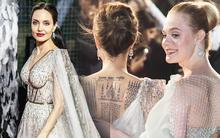 Angelina Jolie lại khiến MXH dậy sóng: Lộng lẫy như bà hoàng, bóng lưng còn lấn át cả công chúa đẹp nhất màn ảnh