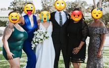 """Họ hàng ăn mặc hở hang tới đám cưới, cô dâu tuyệt vọng nhờ dân mạng """"tút tát"""" lại ảnh để rồi nhận được thành phẩm cười ra nước mắt"""