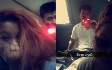"""Đăng ảnh selfie đùa nghịch với bạn trai lên mạng xã hội, bà mẹ 2 con không ngờ """"tử thần"""" ở ngay đằng sau"""